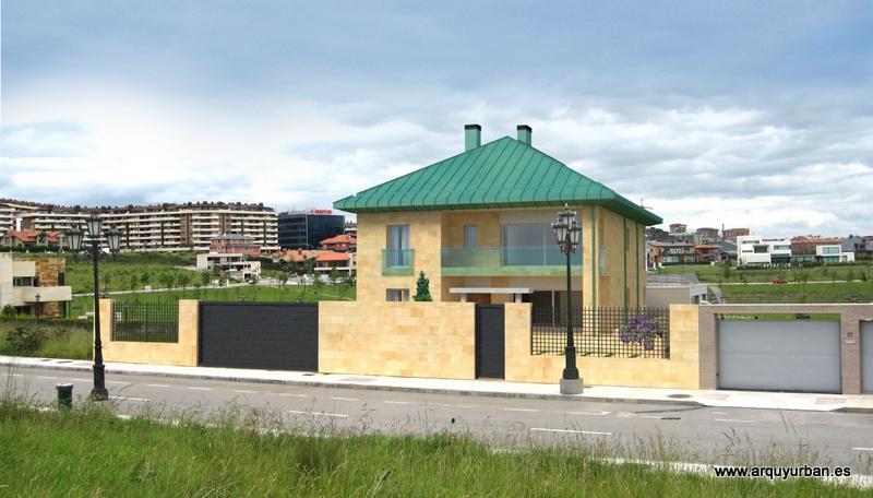 Vivienda Unifamiliar en Montecerrao, Oviedo, Asturias