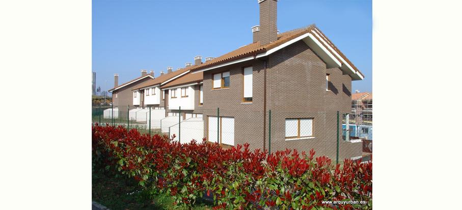 Viviendas Unifamiliares Adosadas en La Fresneda (05M08), Siero, Asturias