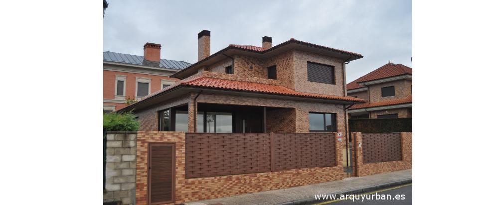 Vivienda unifamiliar en C/ Llanera, Montecerrao, Oviedo, Asturias