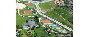 Escuela Municipal de Tenis en el Parque del Oeste, Oviedo, Asturias