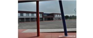 Cierre de patio en el Colegio Público de Colombres, Asturias